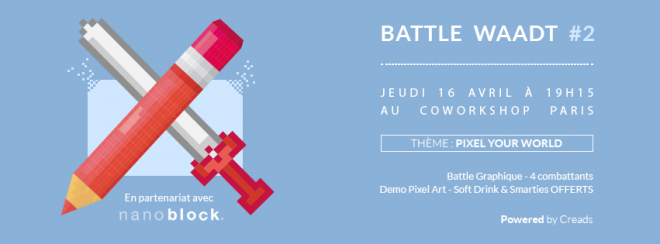 Battle graphique creads coworkshop